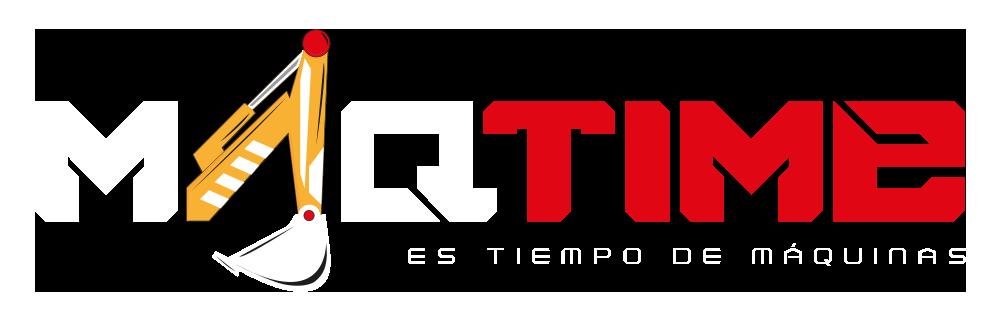 Logo MAQTIME Blanco